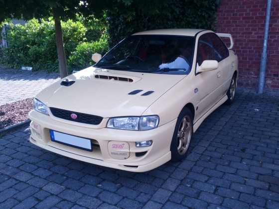 WRX STi Version 6 Frontansicht #2