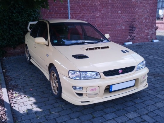 WRX STi Version 6 Frontansicht