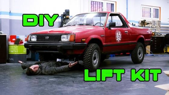 Hoch mit dem Bock! - Subaru BRAT/ 1800 Lift Kit selber bauen