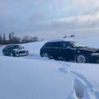Den fetten Audi raus ziehen
