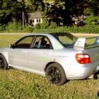 Subaru von links