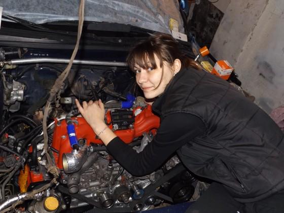 Ich wurde zu einem neuen Motor für Subaru gehen