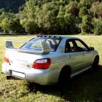 Subaru hinten von rechts