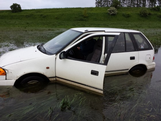Subi im Hochwasser :)