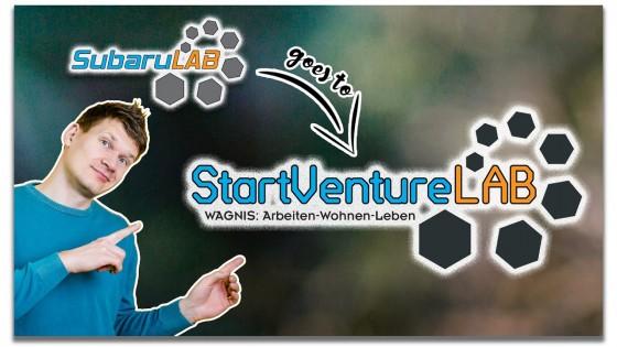 Realtalk Kanalumbenennung: Subaru LAB goes StartVenture LAB